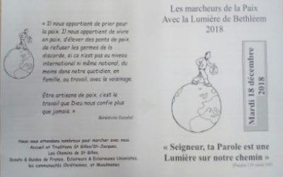 Les Marcheurs de la Paix – 18 déc. 2018
