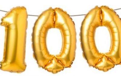 Journée du 100